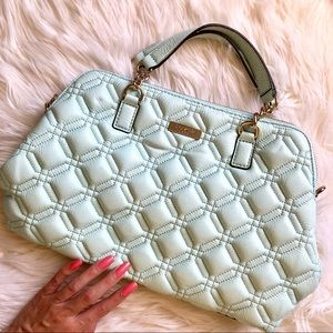 Kate Spade Mint Green Quilted Purse